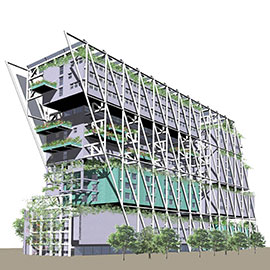 Zero Energy Office Building, Oslo, Norway