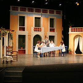 """Trellantonis"" stage set"