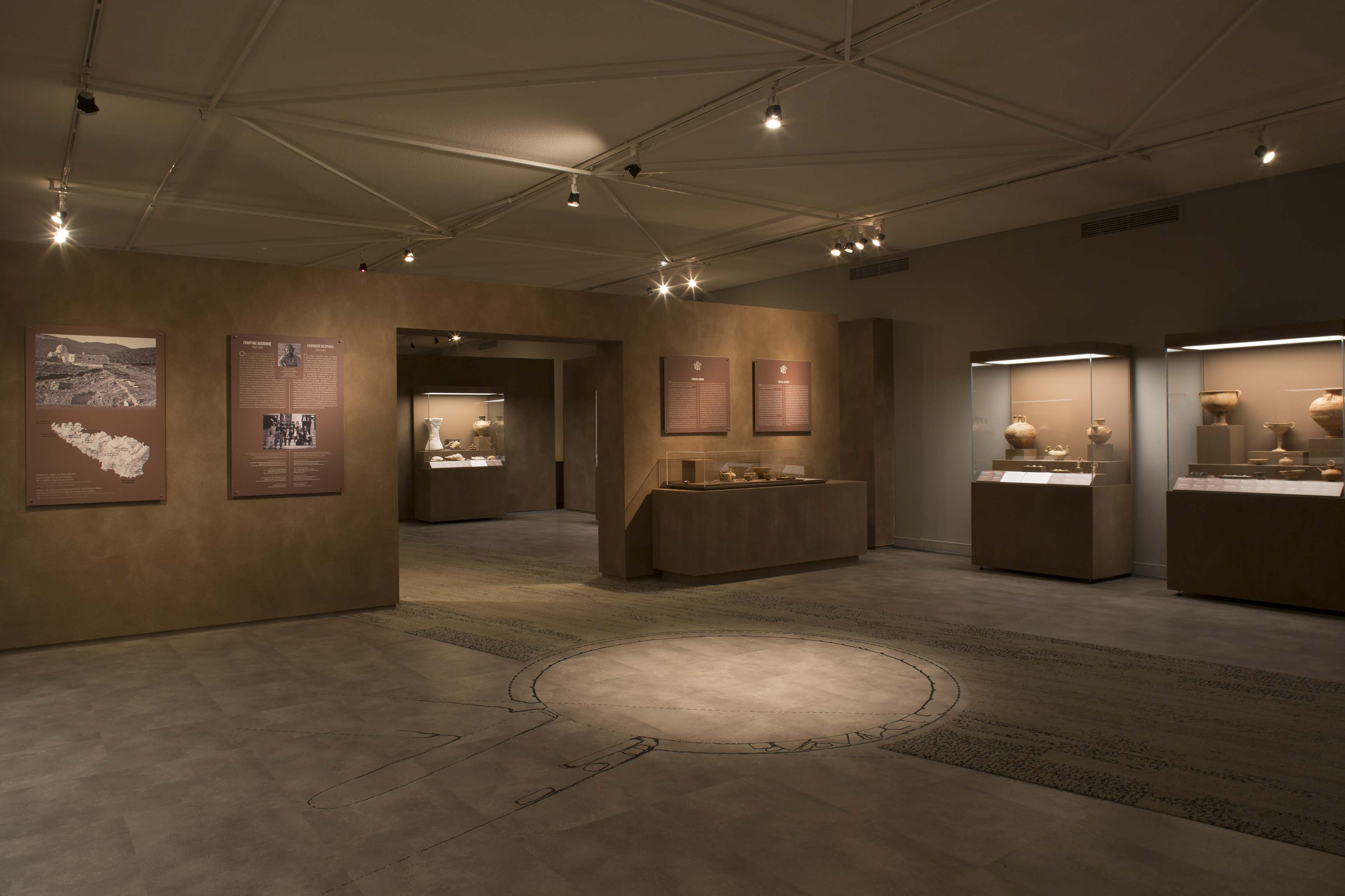 """From Homer's world: Tenos and the Cyclades in the Mycenaean Age"""" Exhibition at the Benaki Museum, Athens"""
